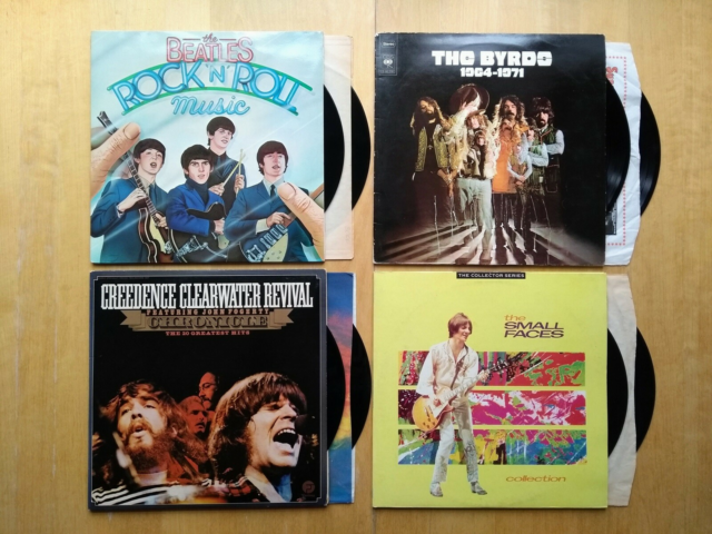 LP, Samlet Pris, Beatles, Small Faces, Creedence og The…