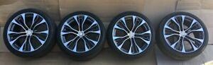 20-pouce-roues-ensemble-pneus-d-039-ete-pour-BMW-X5-E53-E70-F15-X6-E71-F16-599Gris