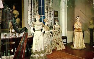 Smithsonian-Institution-White-House-Music-Room-Dresses-Vintage-Postcard-I20