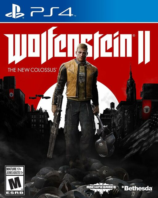 Wolfenstein 2: The New Colossus- PlayStation 4 - Standard Edition New