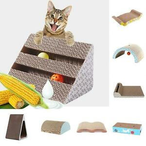 EG-BU-Corrugated-Pet-Cat-Kitten-Scratcher-Board-Pad-Mat-Sofa-Scratching-Post-T