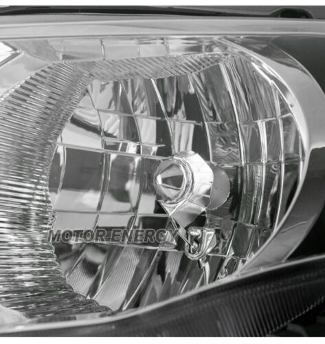 FOR 09-10 TOYOTA COROLLA REPLACEMENT HEADLIGHT HEADLAMP CHROME DRIVER LEFT SIDE