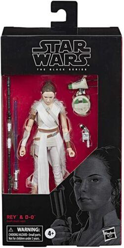 NISB Rey /& D-0 #56 Star Wars The Black Series 6 Inc