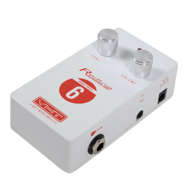 Vht Amplification Av Rl M6 Redline 6 Watt Micro Amp Effect Pedal Ebay