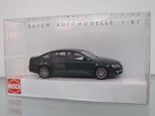 NEU in OVP grün BUSCH 49600-1 H0 1:87 Audi A6 Limousine