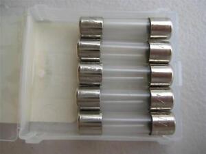 5x Littelfuse Fuse 362 125 1 8 8 12 15 Or 25 Amp 250 V