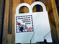12 Little Big Planet Loot Boxes/bags Birthday Party Favor Treat, Customize It
