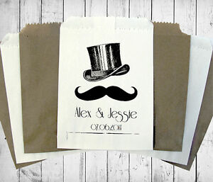Personalised-Wedding-Sweet-Bags-TOP-HAT-MOUSTACHE-Candy-Cart-Wedding-Favours-Con