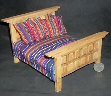 Mexican Dining Chair Tall Hacienda Furniture 1:12 #MAF2223 Miniature Hand Carved