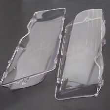 For BMW E46 3 Series Pair Coupe Convertible 4D Clear Headlight Head Lenses Cover