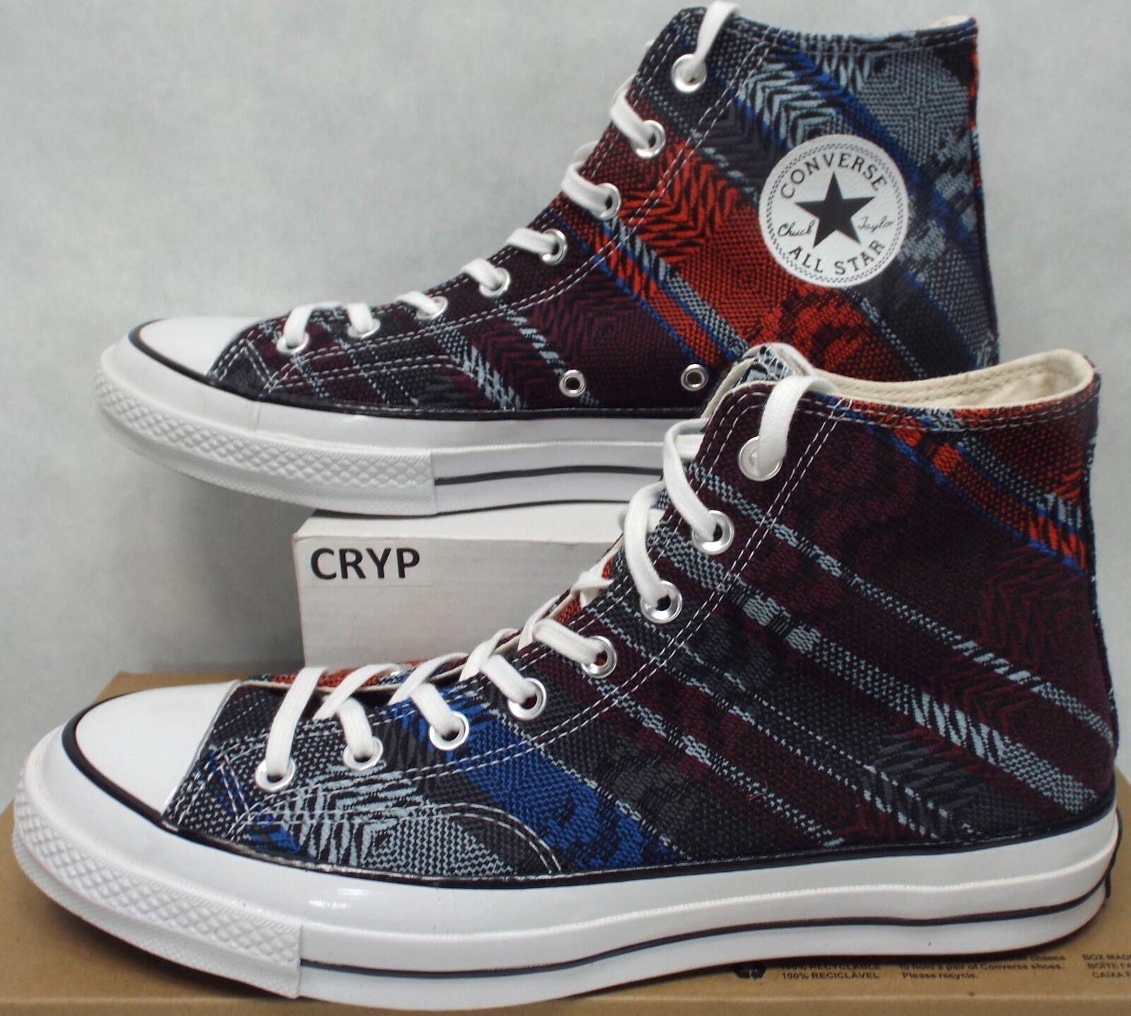 New Mens 10.5 Converse CT 70 HI Multi Tribal Textile Knit Canvas 146967C  115
