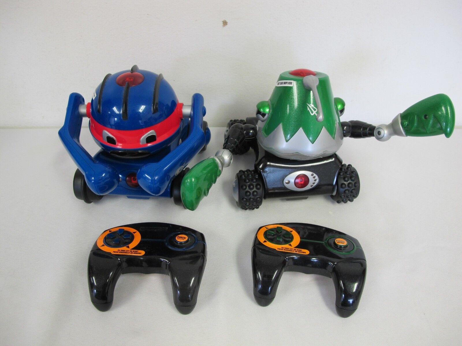 Kampf bot diamond series clamster & lobjaw 2000 trendmasters roboter
