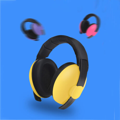 Kids childs baby ear muff defender noise reduction comfort festival protectio SS