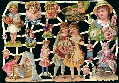 Gekonntes Stricken Und Elegantes Design BerüHmt Zu Sein Willensstark # Glanzbilder # Ef 7249 Kinder Von Früher Superschöner Nostalgischer Bogen Im In- Und Ausland FüR Exquisite Verarbeitung