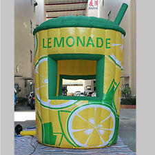 12fttall Commercial Inflatable Lemonade Concession Stand Event Drink Tent Booth