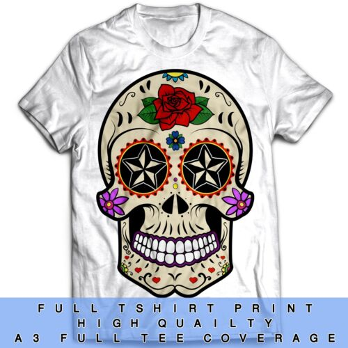 Sugar Skull Inspired Tumblr Disobey Motorcycle Hot Rod Biker T Shirt
