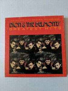 Dion & The Belmonts Greatest Hits Six Record Set Collectables BOX COL B-8