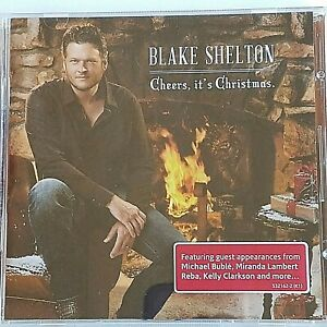 Blake Shelton Cheers Its Christmas.Details About Cheers It S Christmas By Blake Shelton Cd Oct 2012 Warner Bros Promo Cd