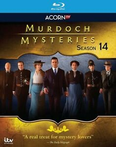 Murdoch Mysteries: Season 14 [New Blu-ray] 3 Pack