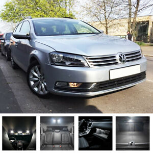For VW Passat B7 2010-2014 DRL LED Xenon White Light Bulbs *FAST POST!* Vehicle Parts & Accessories