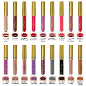 "1 LA SPLASH Waterproof Lip Couture Liquid Lipstick ""Pick Your 1 Color"" Joy's"