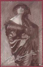 PINA MENICHELLI 25 ATTRICE ACTRESS CINEMA MUTO SILENT MOVIE - CASTROREALE 1923