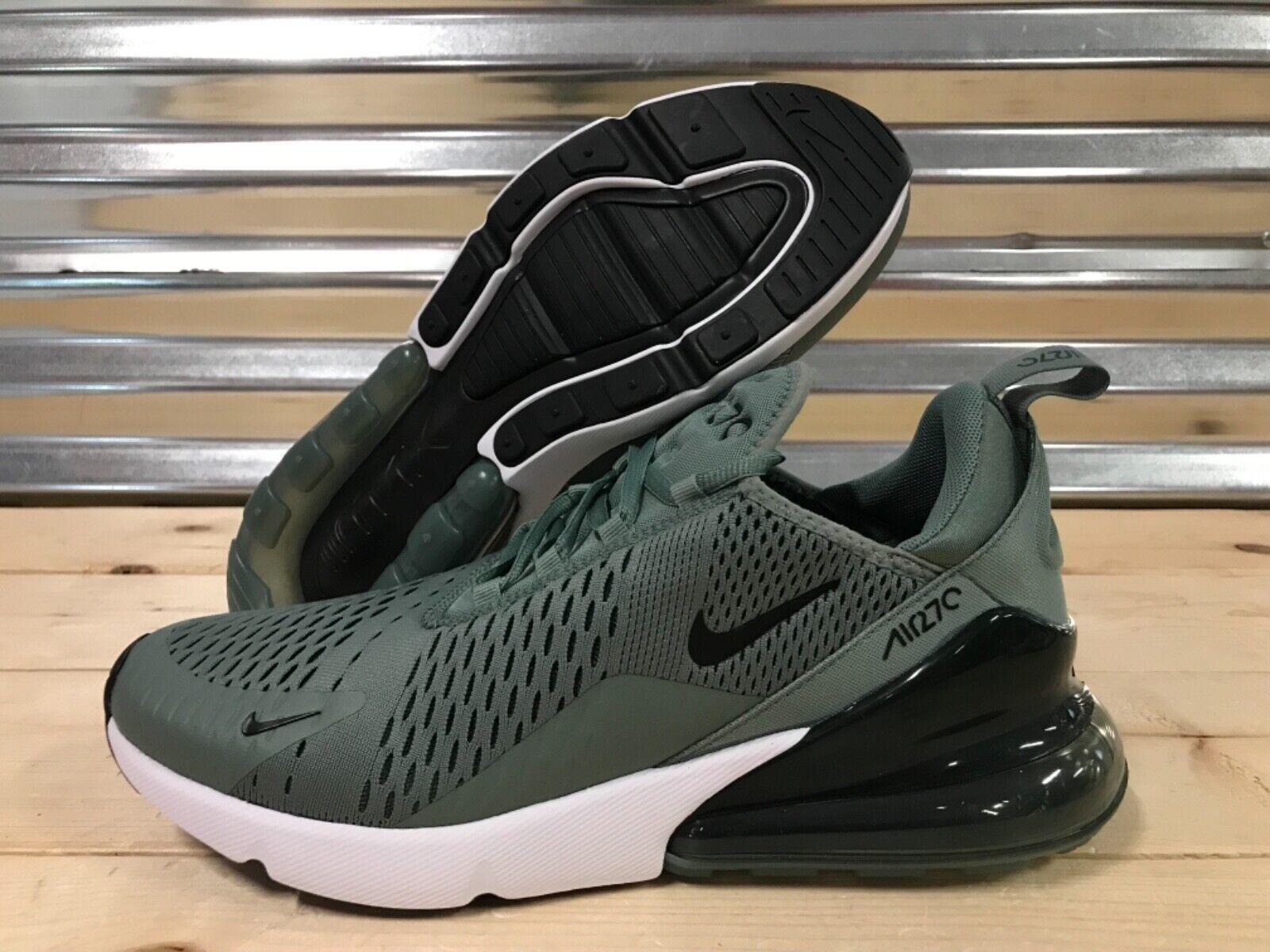 Nike Air Max 270 Running Running Running scarpe Clay verde bianca nero SZ ( AH8050-300 ) 9ce528