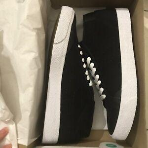 free shipping ed579 f4369 Image is loading New-Nike-Sb-Blazer-Chukka-XT-Black-Gunsmoke-