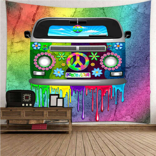Cool and lovely truck 3D Wall Hang Cloth Tapestry Fabric Decorations Decor