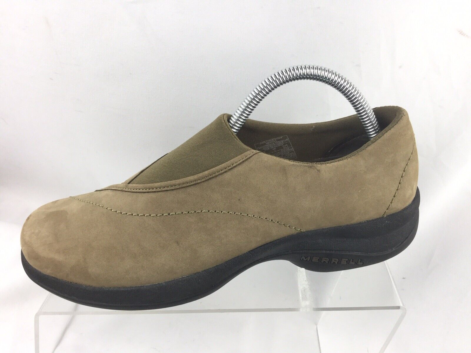 Merrell Topo Curve Tan Slip On Casual Walking Driving Loafers Women's US 9.5