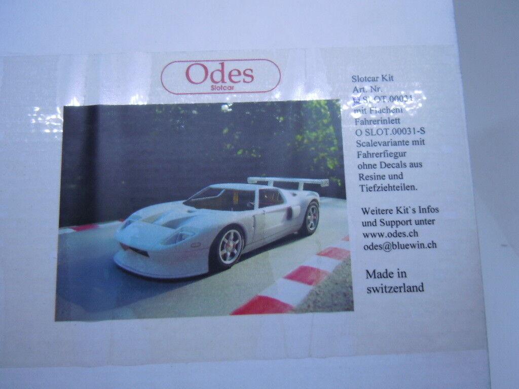 Rar  Ford GT GT3 ungebauter Bodykit von ODES in 1 24