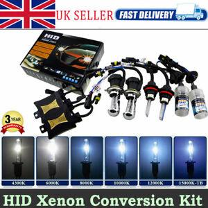 2x-55W-Car-H4-Hi-Lo-H1-H7-HID-Xenon-Headlight-Lamp-Bulbs-Ballasts-Convesion-Kit