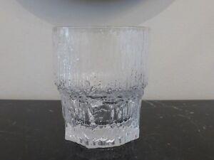 Iittala Glass Aslak Old Fashion Tumbler Glass Ebay