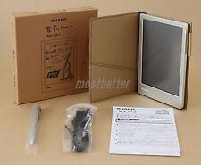 Sharp Electronic Memo Pad Handwriting Notebook WG-S30-T Brown