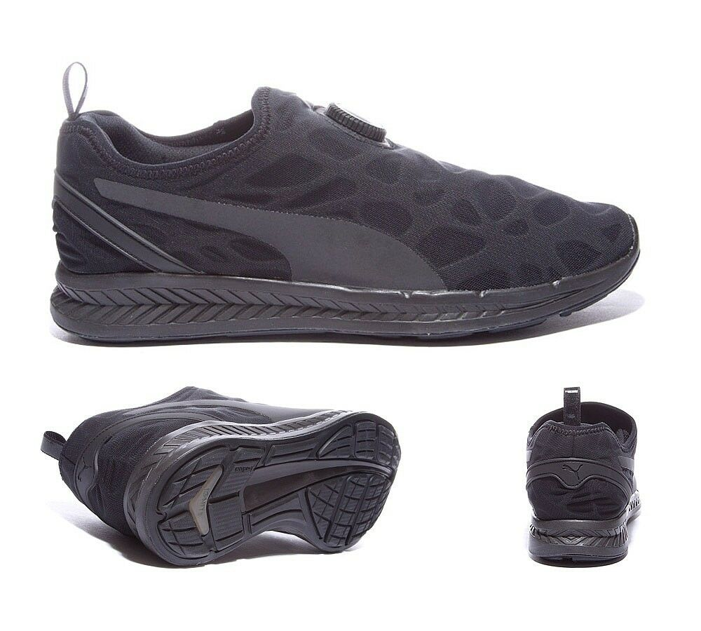Mens Puma Ignite Sleeve Black Trainers