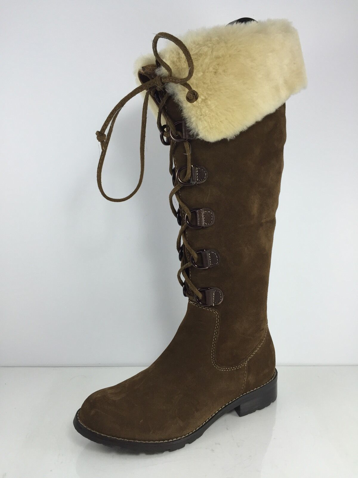 Sofft Damenschuhe Braun Leder Stiefel 6.5 M