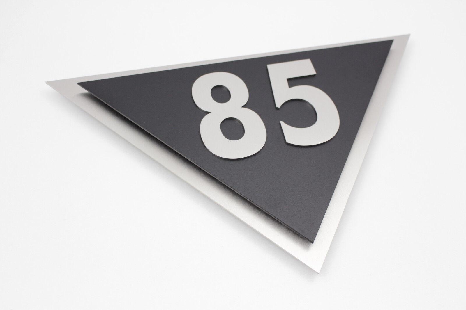 Hausnummer Edelstahl Edelstahl Edelstahl Schwarz Exklusives Design Venus V2A Zahl 0-9 a-h A-H | Hohe Qualität Und Geringen Overhead  | Zu einem niedrigeren Preis  | Meistverkaufte weltweit  44dffd