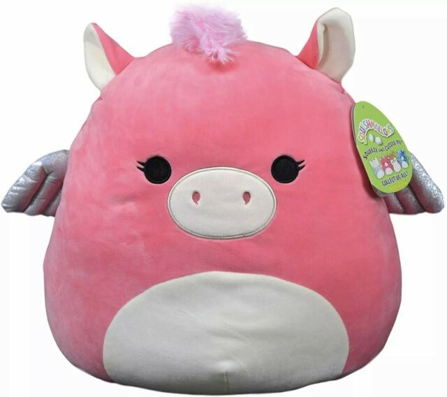 Squishmallow 16 in Paloma The Pegasus,Stuffed Animal Super Pillow Soft Plush Toy