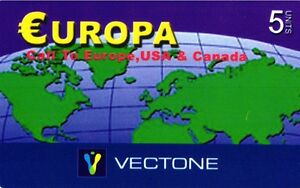 1135 SCHEDA TELEFONICA INTERNAZIONALE USATA EUROPA VECTONE 07-2005 5 XqO0PYP1-09121752-604773181