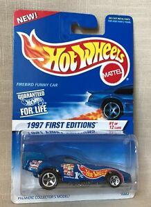 Mattel-Hot-Wheels-1997-First-Editions-1-of-12-Firebird-Funny-Car-Collector-509