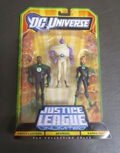 DC Universe Justice League Unlimited Green Lantern Despero Katma Tui