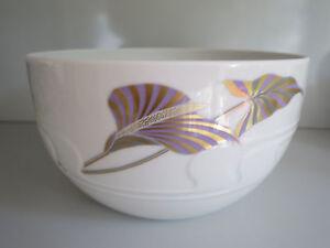 Schüssel 19 cm Rosenthal Asimmetria Dekor Goldblume