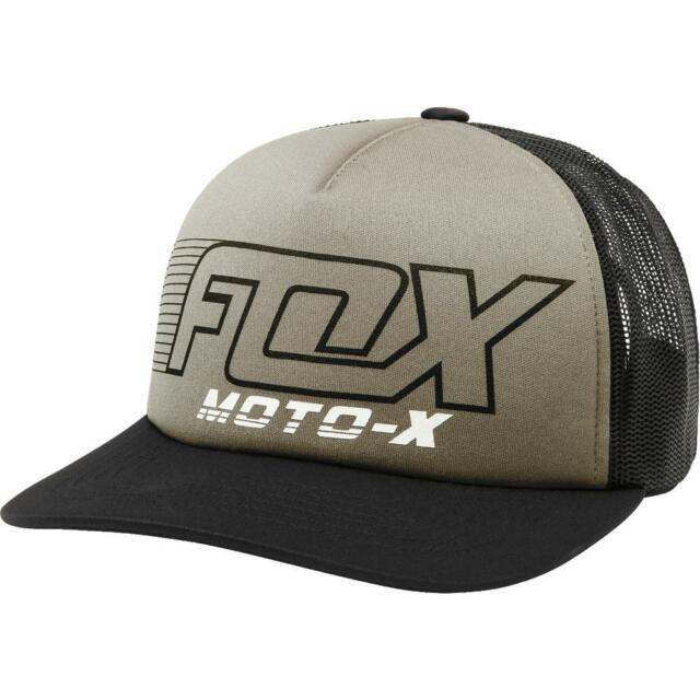 28b9465f6df2d Fox Racing Womens Girls Throttle Maniac Trucker Hat Black OS 21239 in stock