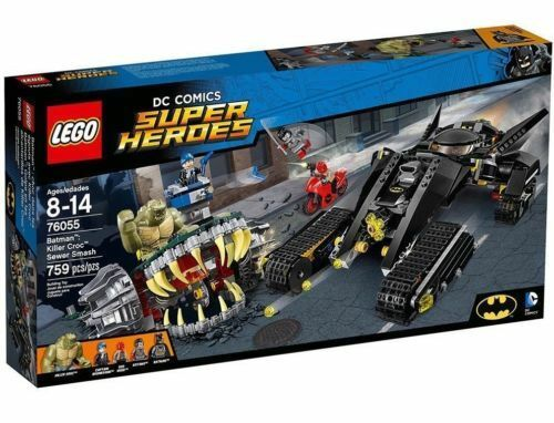 New LEGO 76055 LEGO Batman Killer Croc Sewer smash Super Heroes  NO ORIGINAL BOX