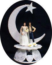 Star War Wedding Cake Topper Han Solo & Princess Leia Moonlight