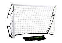 Kickster Quickplay Academy Football Goal - 6'x4' Cheap & Portable Goal Posts