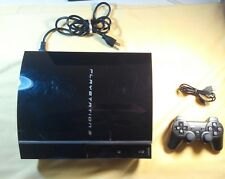 Sony PlayStation 3 80GB Piano Black Console (CECH-K01) for sale