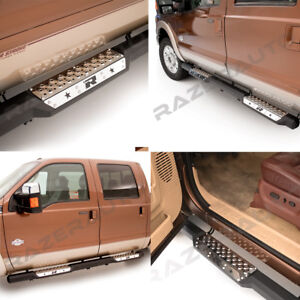 6-034-Step-Steel-Metal-Running-Board-Side-Steps-Nerf-Bar-for-02-08-Dodge-RAM