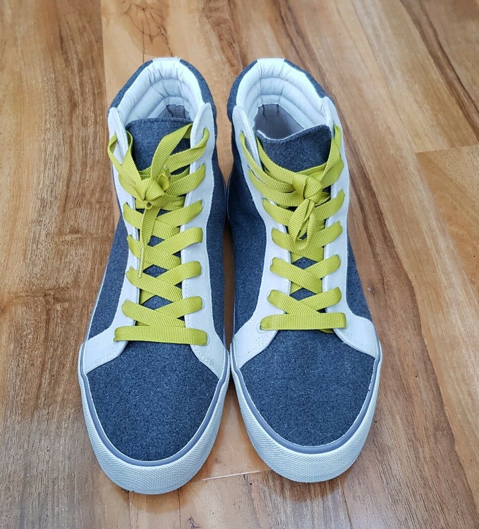 BODEN LADIES GORGEOU GREY BASEBALL SNEAKERS AR686 BRAND NEW RRP