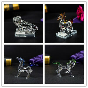 Animal-swarovski-crystal-Element-Horse-Tiger-Crystal-ornament-Gift-Present